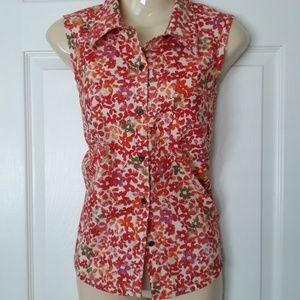 Sigrid Olsen sleeveless shirt